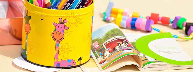Proyecto educativo: Escuela infantil Enanitos objetivos y material